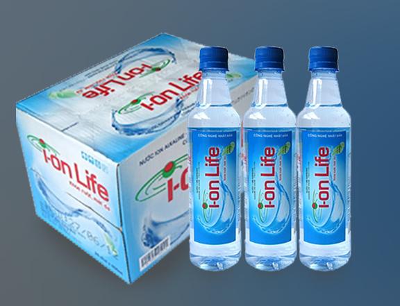 Thùng-nước-tinh-khiết I-on-Life-450ml